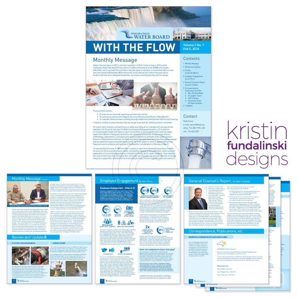 Fundalinski - Newsletter: Niagara Falls Water Board