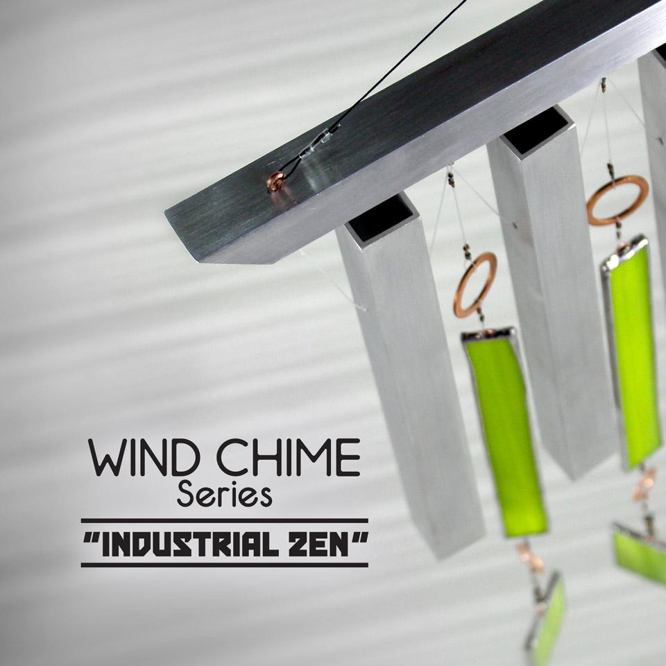 Industrial Zen - Wind Chimes