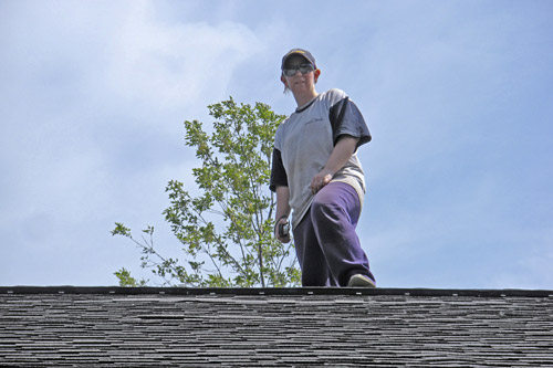Me on a roof