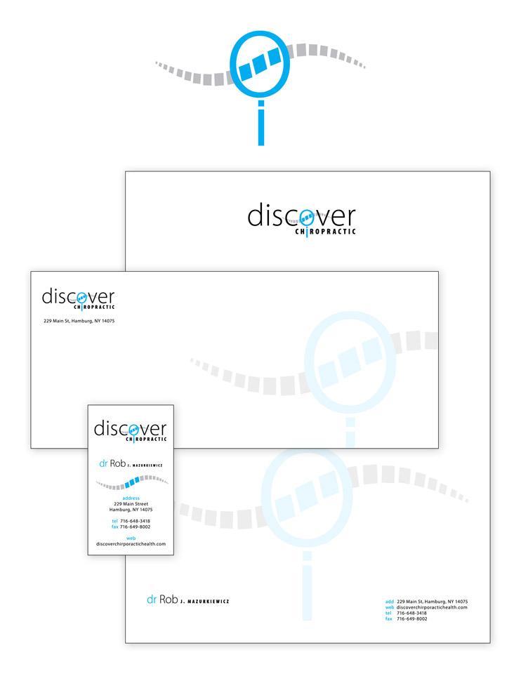 Discover Chiropractics identity