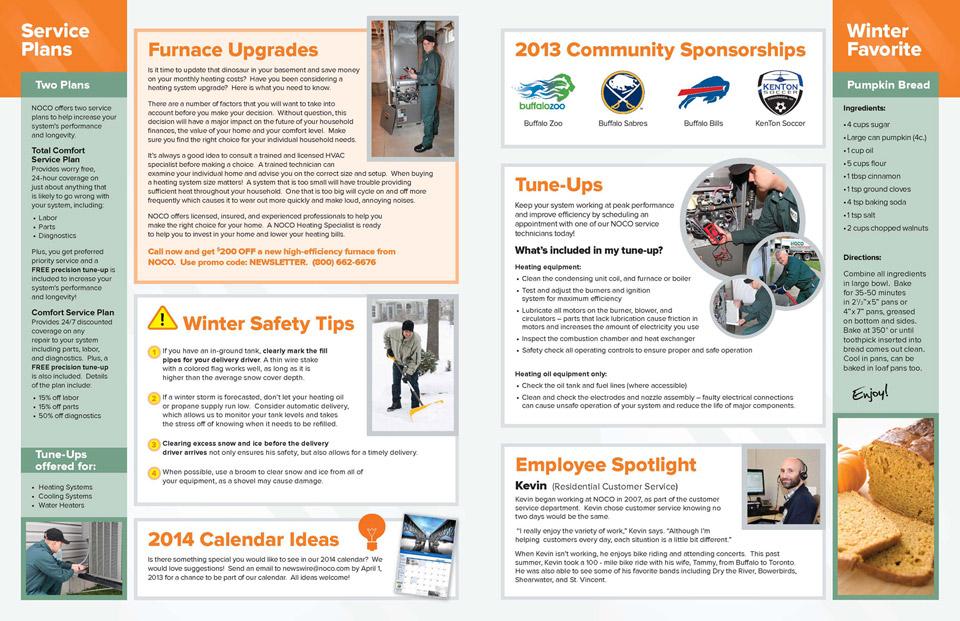 NOCO Newsletter 13 Winter, WNY