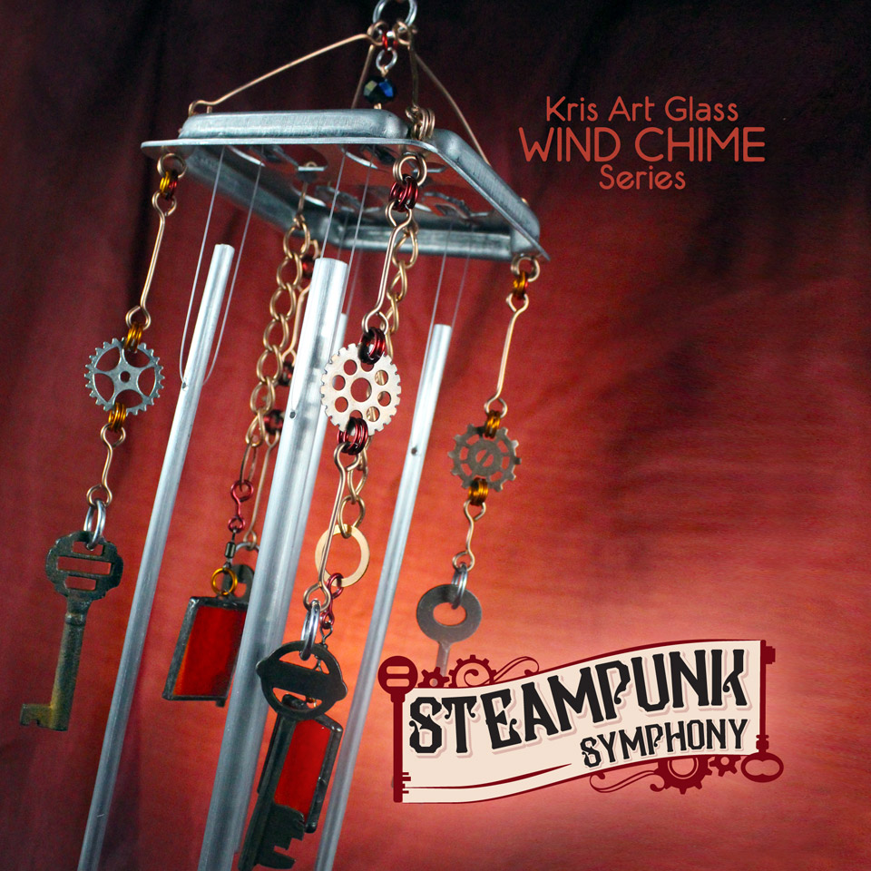 Steampunk Symphony Wind Chime ©Kristin D. Fundalinski