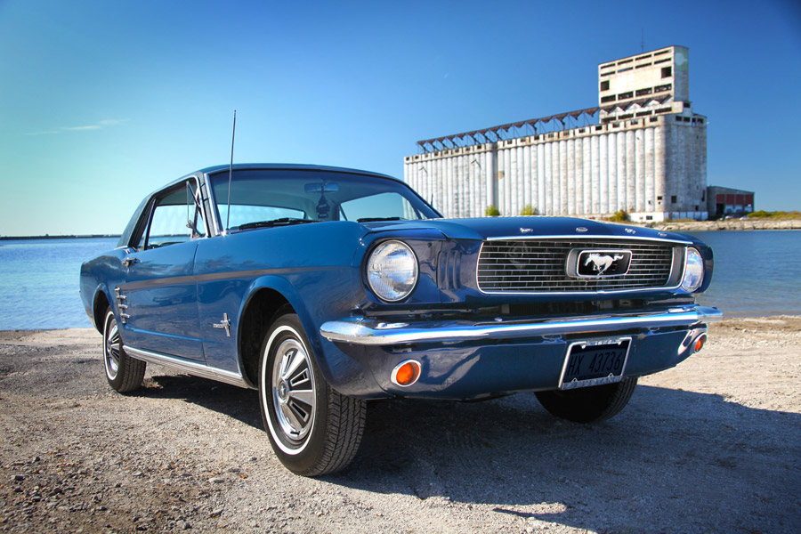 66 Mustang - Photo by Kristin D. Fundalinski