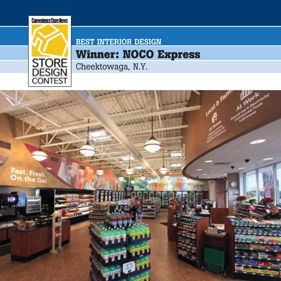 Express Store Voted Best Interior Design